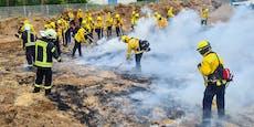 Feuerwehrmann wird bei Flammen-Übung tödlich verletzt