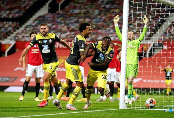 Southampton punktet gegen Manchester United