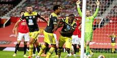 Hasenhüttl verwehrt United den Sprung auf Platz drei