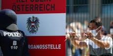 Schlepper schickte 24 Migranten zu Fuß über die Grenze