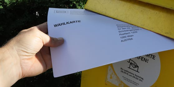 Wahlkarte Symbolbild