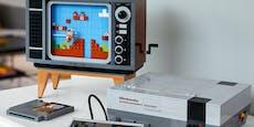 Ab August spielst du Super Mario mit dem Lego-NES