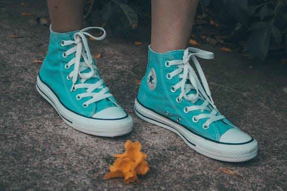 Einige Converse-Modelle werden bevorzugt ohne Socken getragen.
