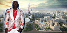 Rapper Akon plant eigene Stadt im Senegal