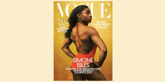 Die amerikanische Turnerin Simone Biles ist Coverstar der August-Ausgabe.