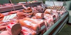 Gefährliche Wurst in Supermärkten verkauft