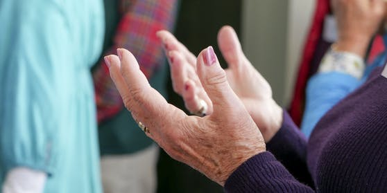 Symbolfoto eines Gebets.