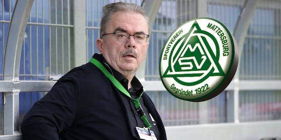 Ex-Mattersburg-Präsident Martin Pucher.