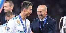 Frankreich-Klub auf der Jagd nach Ronaldo und Zidane