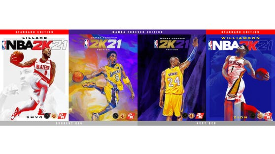 verything is Game: Damian Lillard, Zion Williamson und Kobe Bryant sind die Cover-Athleten für NBA 2K21.