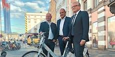 Corona verzögert auch Leihräder in Linz