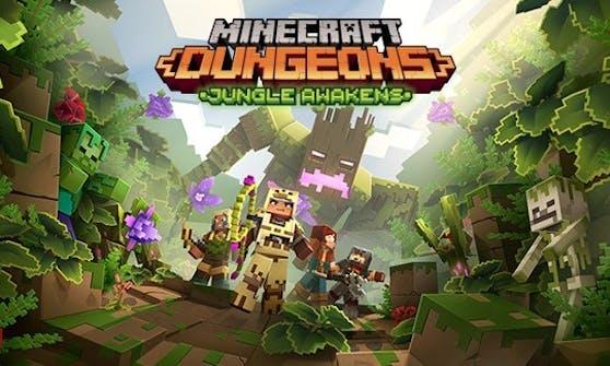 Minecraft Dungeons: Jungle Awakens-DLC ist ab sofort verfügbar.