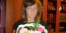 Junge Braut kostet vom Hochzeits-Dessert und stirbt