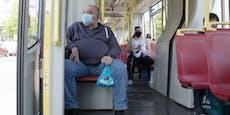 Maskenpflicht in Öffis: 60 Strafen in zwei Wochen