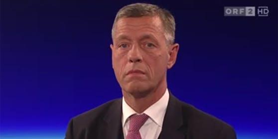 """Strafrechtssektionschef Christian Pilnacek stand in der """"ZiB2"""" Rede und Antwort."""