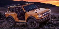 Die Rückkehr des Ford Bronco im Retro-Look