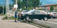 Drift-Start beim Mäci macht BMW-Angeber zur Lachnummer