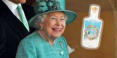 Die Queen verkauft Gin mit Kräutern aus ihrem Garten