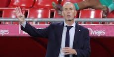 Zidane platzt nach Frage zu Bale der Kragen