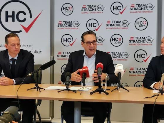 Heinz-Christian Strache setzt bei der Wien-Wahl im Oktober auf Ausländer- und Verkehrsthemen.