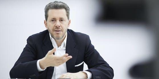 Harald Mahrer, Präsident der Wirtschaftskammer Österreich (WKO).