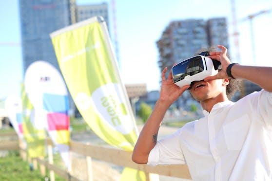 Mittels Virtual Reality kannst Du schon heute eine Zeitreise in die Zukunft des Wiener Wohnbaus machen.