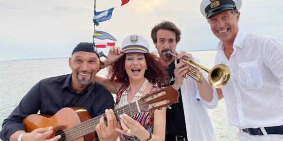 """Die """"Mausi"""" Big Band auf hoher See"""