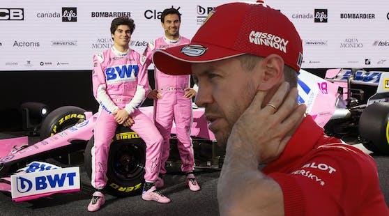 Fährt Sebastian Vettel bald mit dem Racing-Point-Boliden?