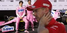 Das sagt Vettel über ein Cockpit bei Racing Point