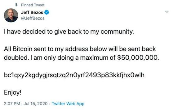 Bezos Tweet
