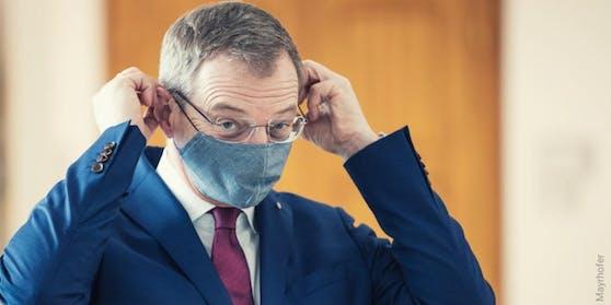 Oberösterreichs Landeshauptmann Thomas Stelzer äußerte sich zur Impfpflicht.