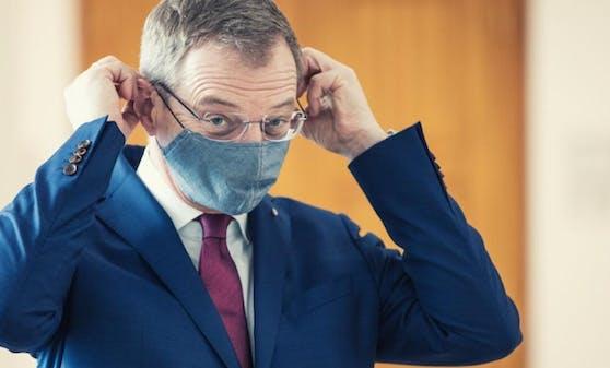 LH Thomas Stelzer äußerte sich zur Maskenpflicht.