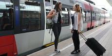 Ab Montag wird in den Zügen der ÖBB gestraft