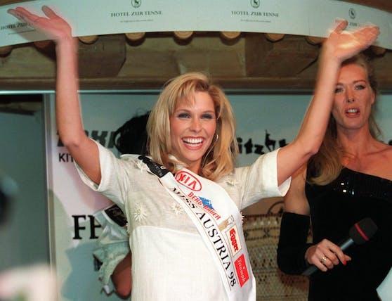 Sabine Lindorfer, Miss Austria 1998, wird neue Bezirksstellenobfrau der WKO Urfahr-Umgebung.