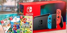 """""""Sommerspiele""""-Paket mit Switch und Games zu gewinnen"""