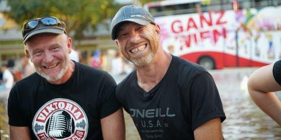 Bitte lächeln –Didi Baumgartner und Roman Gregory