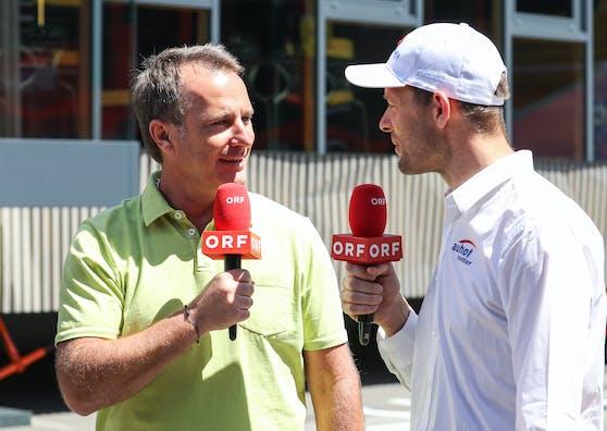 Ernst Hausleitner und Alexander Wurz unterhalten die Formel-1-Fans seit Jahren.