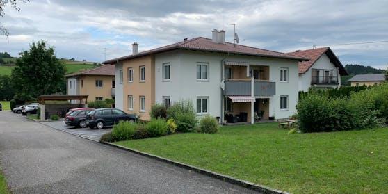 Das Tatort-Haus in Rainbach im Innkreis (Bez. Schärding).