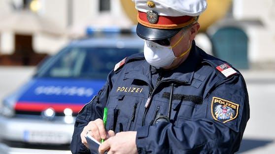 Sieben Polizisten wurden in Salzburg positiv getestet.