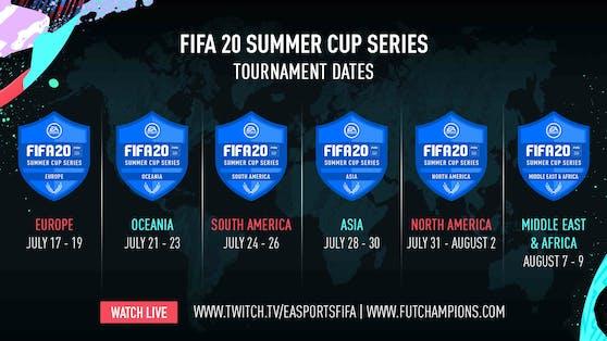 EA SPORTS FIFA 20 Summer Cup Series - Europa-Turnier beginnt.