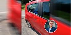 Grünen-Politiker auf dem Rad von Auto abgeschossen