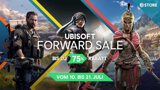Ubisoft Forward Sale im Ubisoft Store mit bis zu 75 Prozent Rabatt.