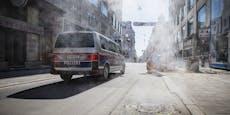 Alarmtaste schlägt Trafikanten-Räuber in die Flucht