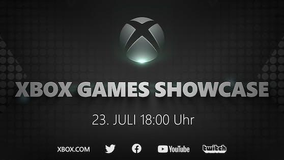 Xbox Games Showcase am 23. Juli: Ein Blick in die Zukunft von Xbox.