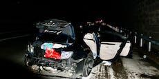 Unfall-Lenker flüchtete, ließ sich im Spital behandeln