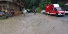 Schwere Unwetterschäden verwüsten Tirol
