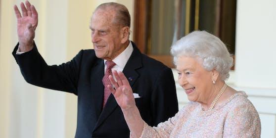 Prinz Philip, Queen Elizabeth II.
