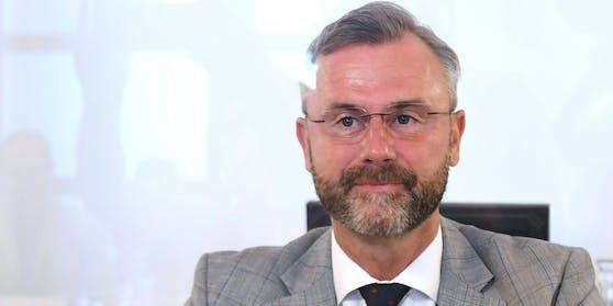 Norbert Hofer (FPÖ) beantwortete Fragen im U-Ausschuss