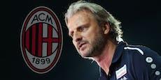 Hammer! AC Milan will Hartberg-Coach Schopp