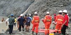 Mehr als 110 Tote bei Erdrutsch in Jade-Mine befürchtet